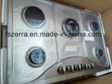 Strumentazione della cucina della fresa del gas della casa del comitato di vetro Tempered (JZG85811)