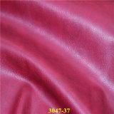 Couro de imitação do plutônio da alta qualidade para sapatas, carteiras, sacos