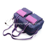 Пурпуровый напечатанный мешок перемещения багажа Duffel шестерни напольного спорта