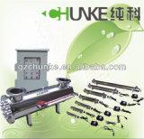 Esterilizador ULTRAVIOLETA Ck-UV005g del calentador de la toalla del acero inoxidable de Chunke
