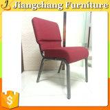 판매를 위한 빨간 직물 교회 의자