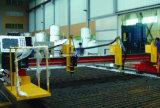 帯のためのローラーのベッドが付いているシーム溶接の管の溶接のマニピュレーター、および縦方向