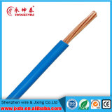 Fio elétrico isolado PVC de cobre puro do condutor do fio de terra BV2.5mm2