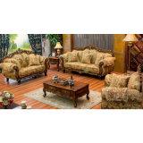 Sofà del tessuto con il blocco per grafici di legno del sofà per mobilia domestica (929Y)