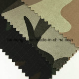 Feuerfeste Baumwolltarnt elastisches Spandex-Segeltuch-Militär Gewebe für Tarnung-Kleidung
