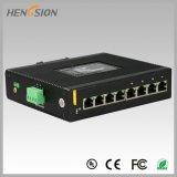 8 Gigabit-elektrischer industrieller Netzwerk-Portschalter