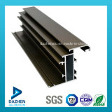 Profilo di alluminio personalizzato dell'espulsione ricoperto polvere per il portello della finestra
