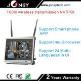 Nécessaires de vente chauds de l'appareil-photo NVR d'IP du WiFi 2.0megapixels de 1080P 8chs