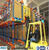 Vorgewählte Stahlhochleistungszahnstange für Speicherung
