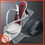 Soportes de visualización de acrílico del zapato