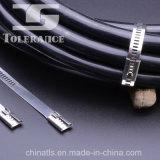 Ataduras de cables de epoxy del acero inoxidable de la escala