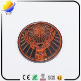 Form-Entwurfs-Decklack-Münzen-Euroschlüsselhalter-Ring