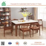 Самая последняя конструкция использовала мебель столовой для сбывания, роскошного комплекта столовой стула