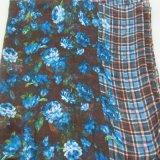 178*99cm gestreifter Polyester-Schal, Form-Zusatzgeräten-Frauen-Schale