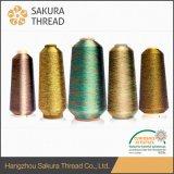 Sakura-Marken-Qualitäts-metallisches Garn für Hochgeschwindigkeitsstickerei