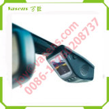 GPS車のダッシュのカメラDashcamが付いている二重レンズ車DVRのブラックボックス車のカメラのダッシュカム