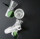 Kom van het Glasplaatje van het Blad van Gldg de Reticulaire Voor de Waterpijp van het Glas