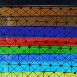 2017最も新しい装飾的な袋のハンドバッグのためのデザインによって印刷されるPU PVC革(W200)