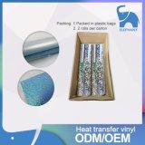 Corea del rollo de calidad Luminoso / holograma de transferencia de calor de vinilo