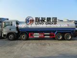 De Vrachtwagen van de Olietanker van China HOWO T5g 8X4 Met Capaciteit 25000L
