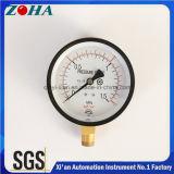 Calibre de pressão comum dobro da escala 1.5MPa/15kg/Cm2 do certificado de Ks