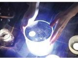 屋外及び世帯のための熱い携帯用再充電可能な防水太陽LEDの軽く膨脹可能な太陽ランタン