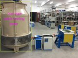 forno ad induzione elettrico per media frequenza 100kg per la fusione dell'acciaio/ferro/acciaio inossidabile/lega alluminio/del rame