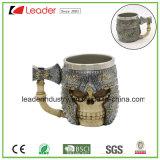 Tasse de café de modèle de crâne de l'horreur 3D d'acier inoxydable pour des cadeaux de promotion