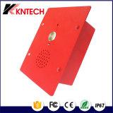 O telefone do atendimento Emergency entrega ao telefone livre Knzd-11 o telefone impermeável áspero do metal