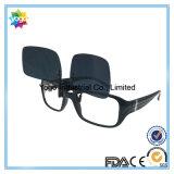 Grampo polarizado UV400 do Mens dos óculos de sol em óculos de sol