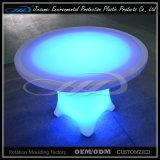 Круглый стол штанги пластмассы СИД PE материальный для трактира