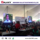 Visualización video al aire libre rápida del alquiler LED de la instalación P4 P5 P6 para el acontecimiento
