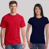 95 Baumwolle5 Lycra Gewebe-kundenspezifisches Sport-T-Shirt