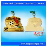 Sport delle medaglie di marchio di stampa della medaglia di ping-pong di placcatura di colore dell'oro
