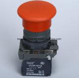tipo interruttore del fungo di 22mm di pulsante con la certificazione dei CB
