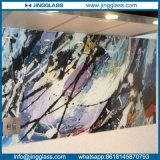 La couleur Tempered a souillé le Silkscreen en céramique en verre décoratif d'impression de Digitals d'art