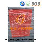 Documento non rivestito di colore di formato della pasta di cellulosa 635*902mm per stampa