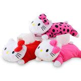 Het hete Verkopende Stuk speelgoed van de Pluche van het Stuk speelgoed van het Huisdier Kat Gevulde