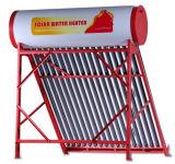 Nicht druckbelüfteter galvanisierter Stahlsolarwarmwasserbereiter