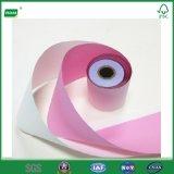 2 Falte-kohlenstofffreies Papier-Rolle für Punktematrix Positions-Drucker