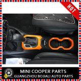 Cubierta anaranjada material del sostenedor de Cover&Cup del engranaje de la rotación de estilo del ABS del accesorio auto para el modelo renegado (2PCS/SET)