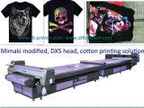 Por muito tempo máquina de impressão direta de Digitas do leito Fd1628 para t-shirt pretos