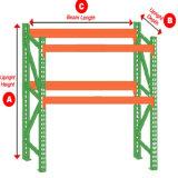 Lager-Speicher-vorgewählte Hochleistungsladeplatten-Stahlzahnstange/Regal