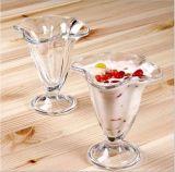 чашка стекла мороженного высокого качества 185ml творческая