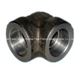 Cotovelo do soquete do aço de carbono do encaixe de tubulação