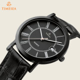 Horloge het van uitstekende kwaliteit van het Kwarts, Horloge 72437 van het Leer