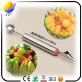 Paring a estaca e a faca prática Multifunction da fruta de Baller do melão