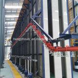 Linha de revestimento de alumínio tipo do pó do vertical