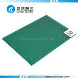 Het berijpte Plastic Afdekken van het Dak van PC van het Kristal van het Polycarbonaat