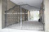 Haohan 고품질 외부 안전 장식적인 단철 담 문 6